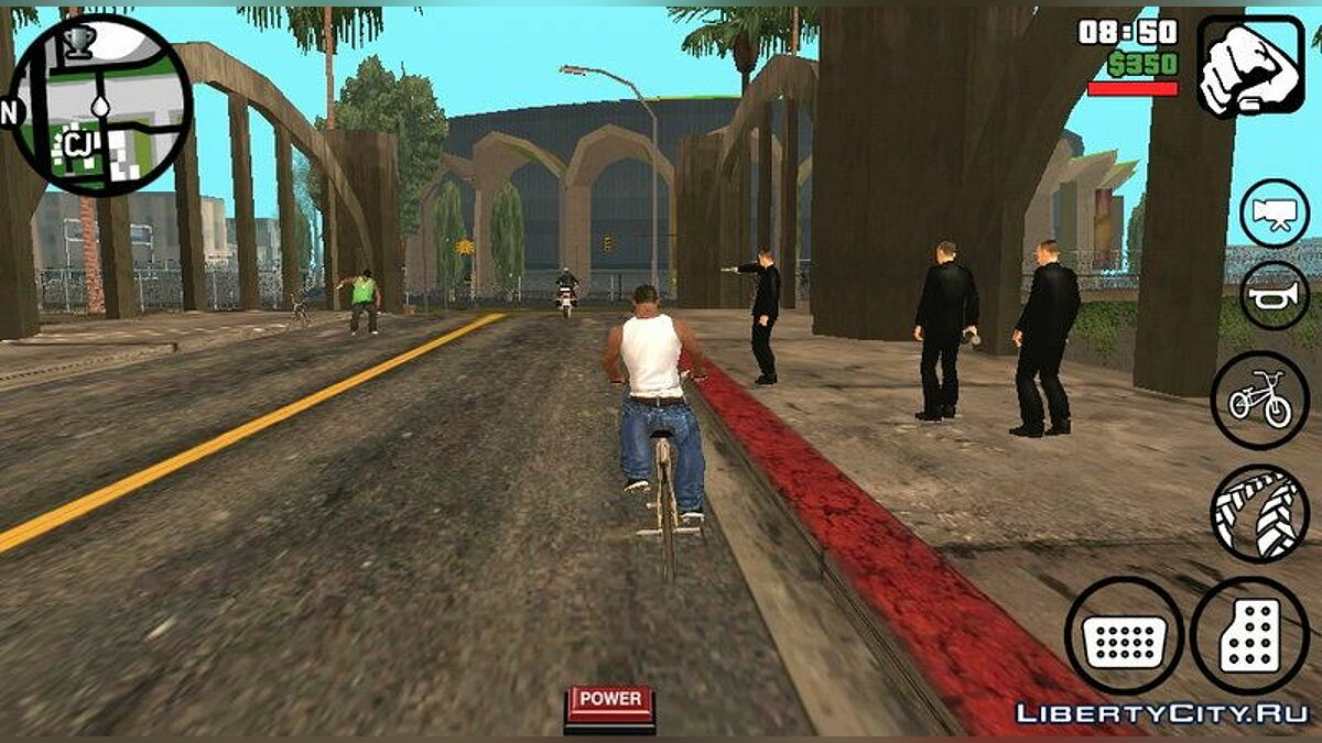 Hardcore Gang Wars - Armed gangs on the streets for GTA San Andreas (iOS, Android) - Картинка #4