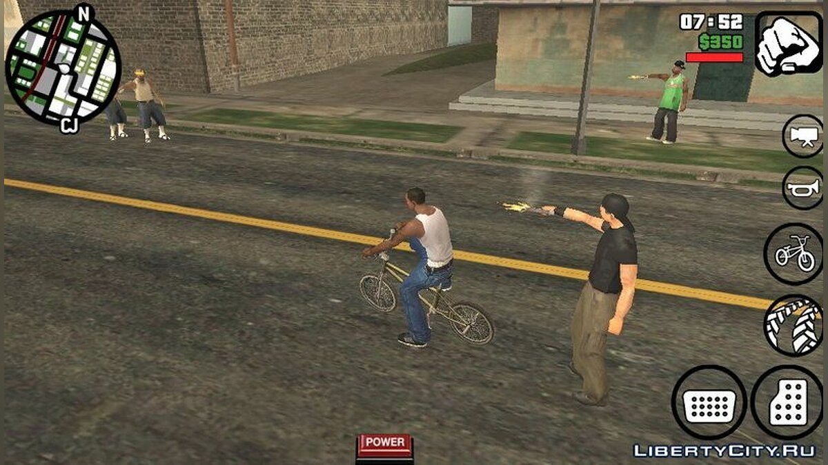 Hardcore Gang Wars - Armed gangs on the streets for GTA San Andreas (iOS, Android) - Картинка #3