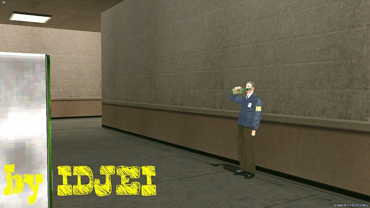 CLEO script Bank robbery in LS for GTA San Andreas (iOS, Android)