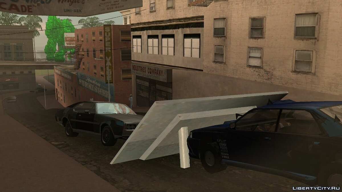 CLEO script Sultan Ramp for GTA San Andreas (iOS, Android)