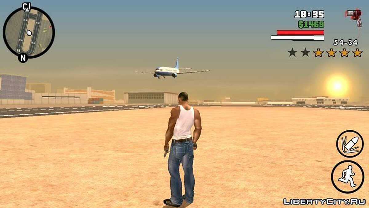 CLEO script Airtraffic mod for GTA San Andreas (iOS, Android)