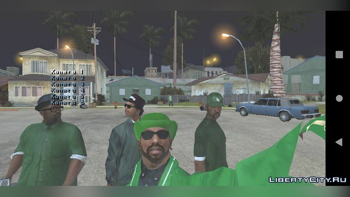 CLEO script Challenge the main characters for GTA San Andreas (iOS, Android)