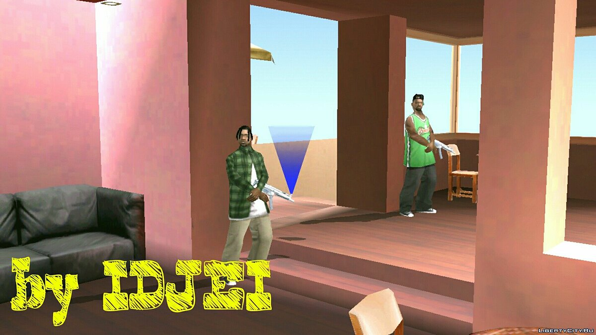 Restaurant in the Verdant-Bluffs area for GTA San Andreas (iOS, Android) - Картинка #4