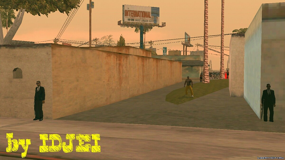 Street fight in LS (1.0) for GTA San Andreas (iOS, Android) - Картинка #6