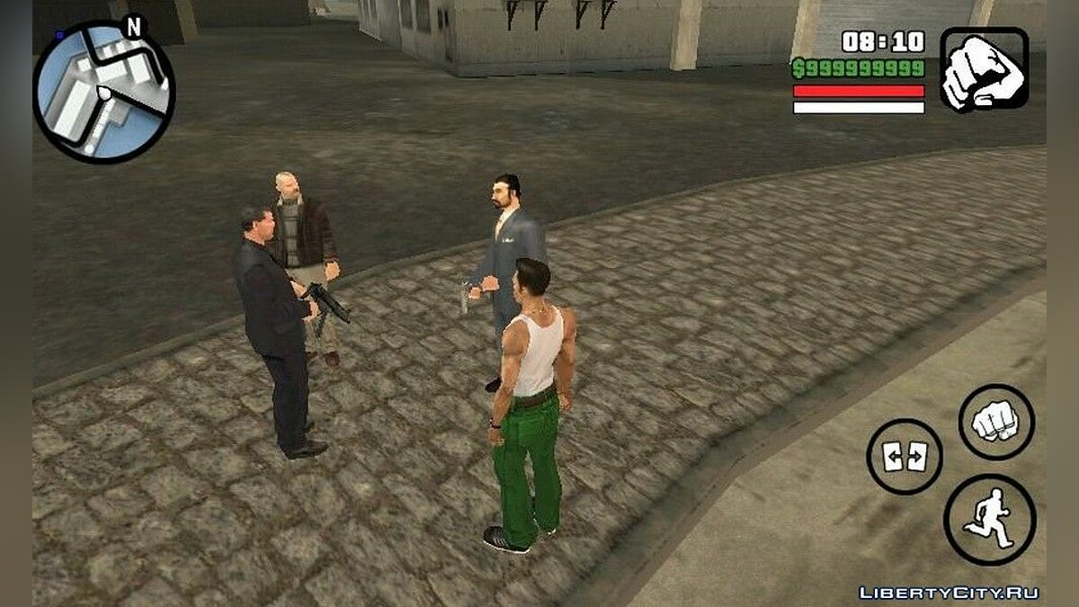 CLEO script Russian mafia and bikers for GTA San Andreas (iOS, Android)