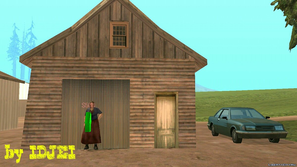 Grandmother renting a farmhouse for GTA San Andreas (iOS, Android) - Картинка #1