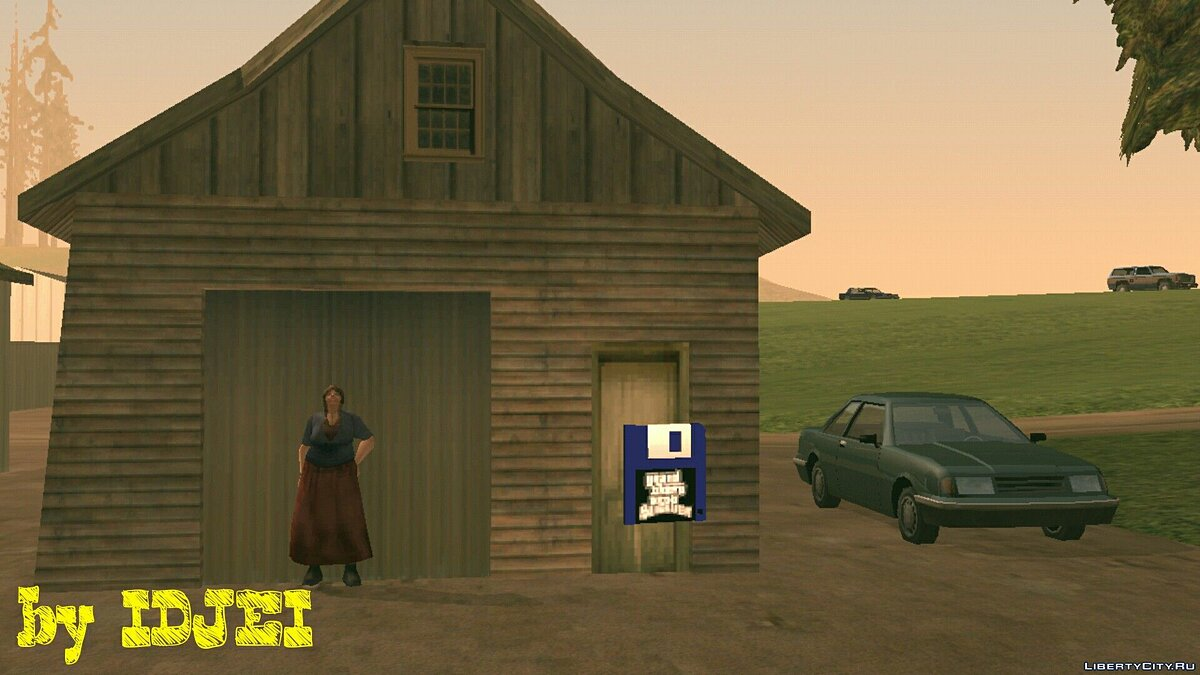 Grandmother renting a farmhouse for GTA San Andreas (iOS, Android) - Картинка #5