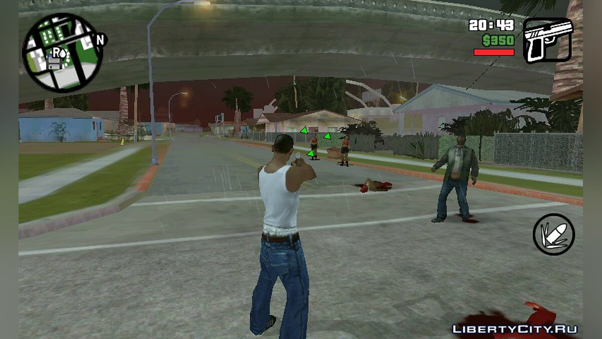 Zombie Mod 0.1 for GTA San Andreas (iOS, Android) - Картинка #1