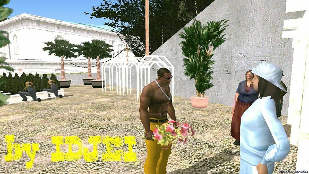Revitalizing the Garden Center in SF for GTA San Andreas (iOS, Android) - Картинка #5