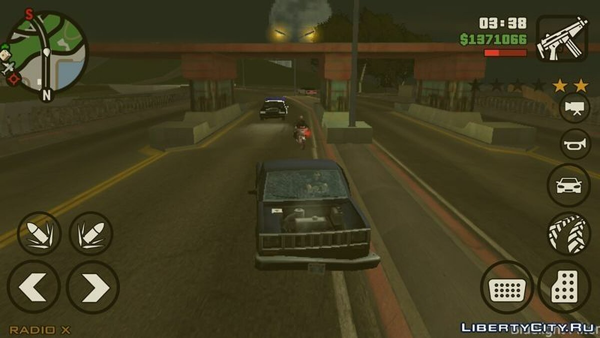 CLEO script Bridge Pay for GTA San Andreas (iOS, Android)