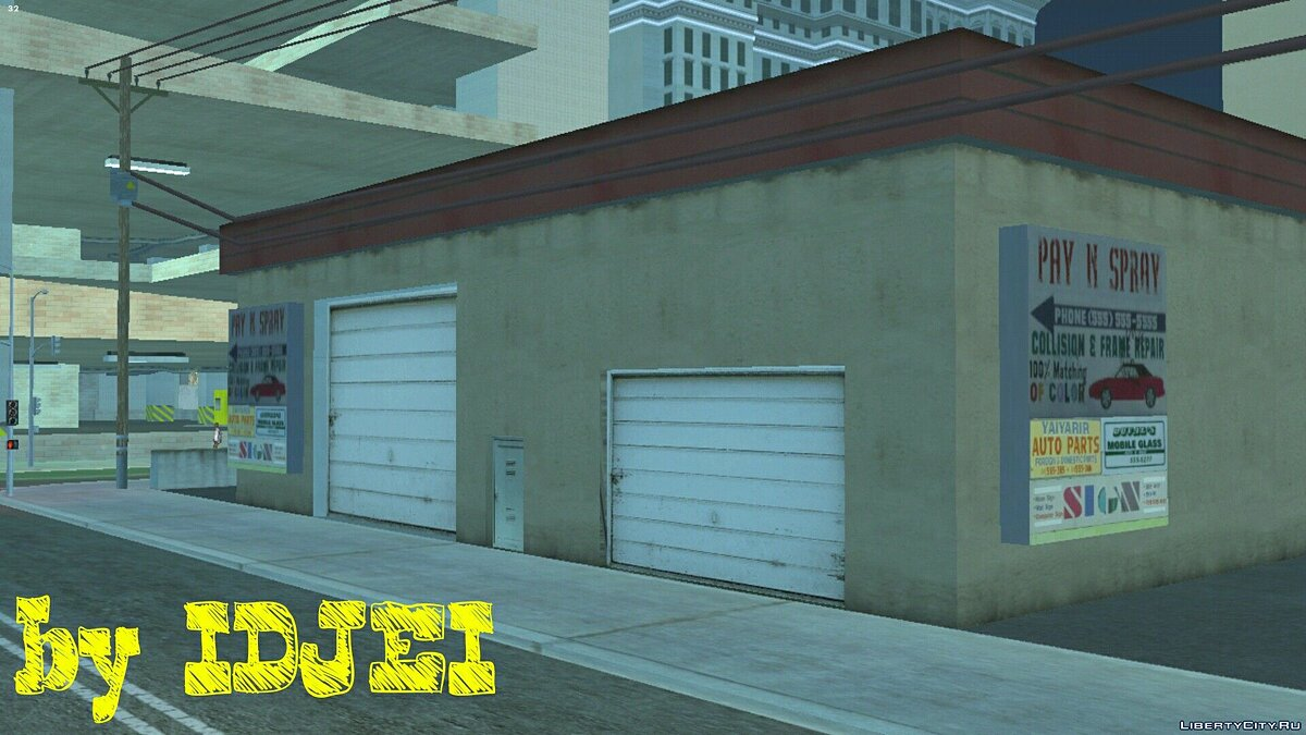 Login to Pay 'n' Spray in LV for GTA San Andreas (iOS, Android) - Картинка #1