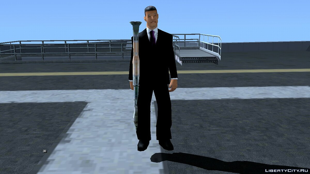 CLEO script Armed enemy on the tower for GTA San Andreas (iOS, Android)