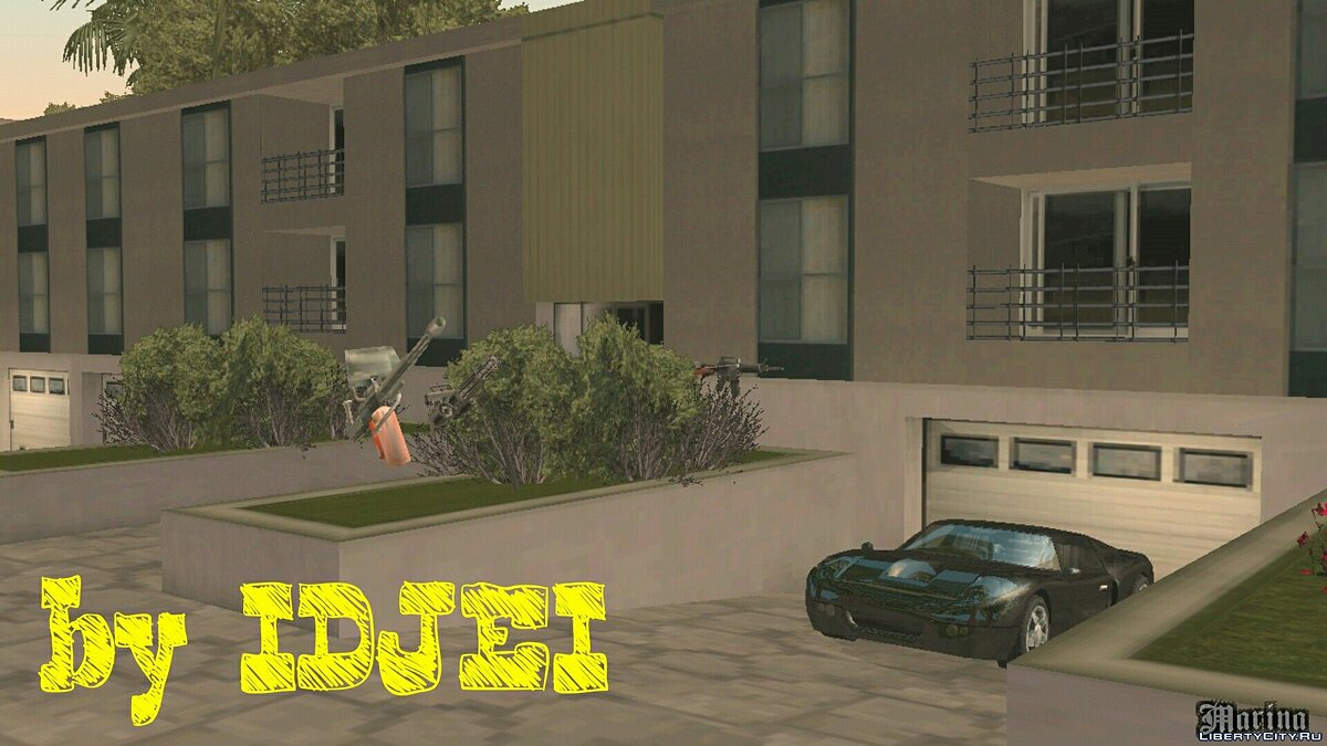 House in Marina area for GTA San Andreas (iOS, Android) - Картинка #1