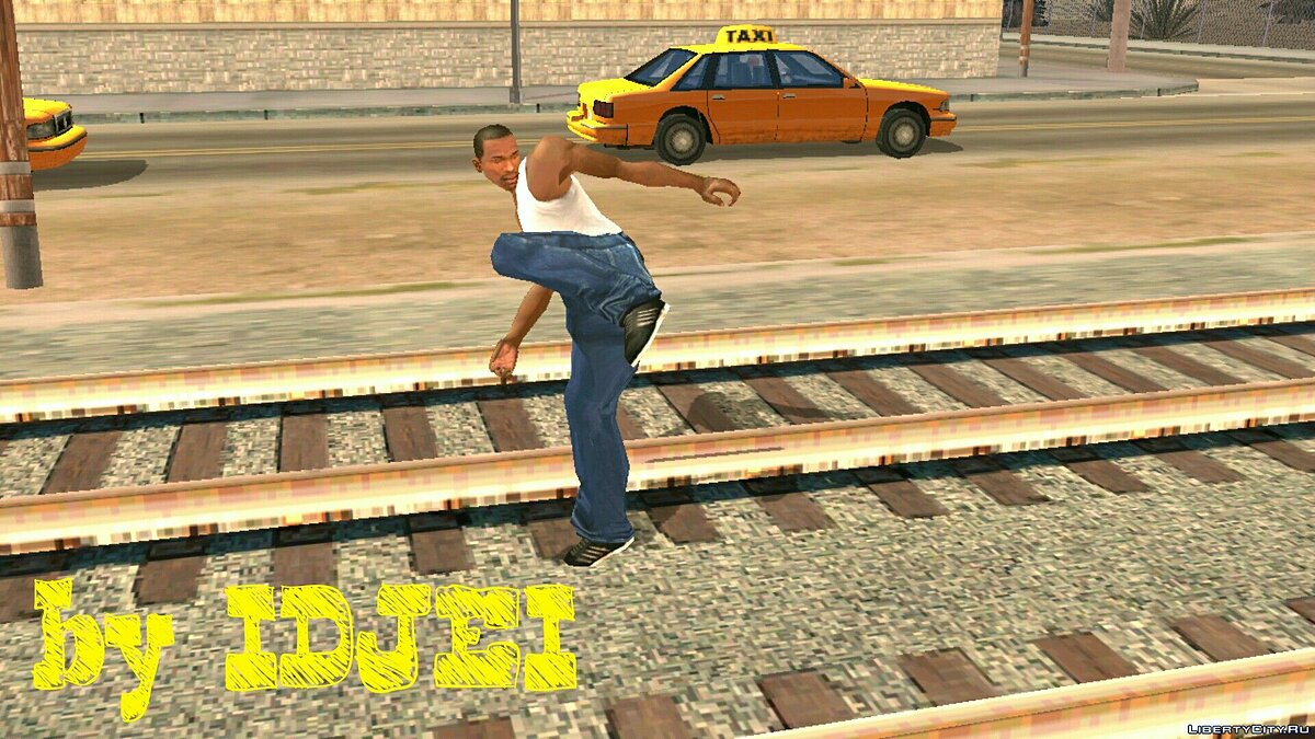 Mixed Fight CJ for GTA San Andreas (iOS, Android) - Картинка #1