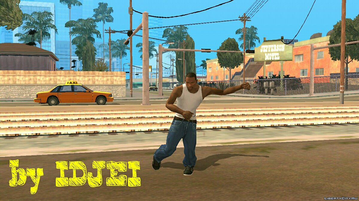 Mixed Fight CJ for GTA San Andreas (iOS, Android) - Картинка #2