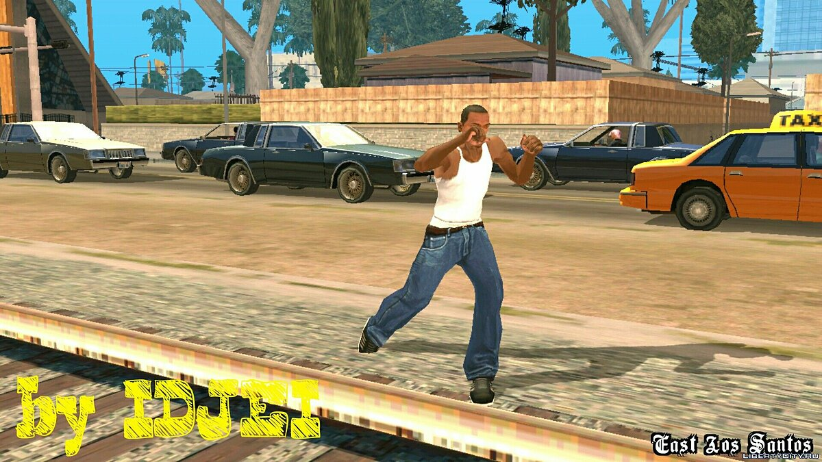 Mixed Fight CJ for GTA San Andreas (iOS, Android) - Картинка #3