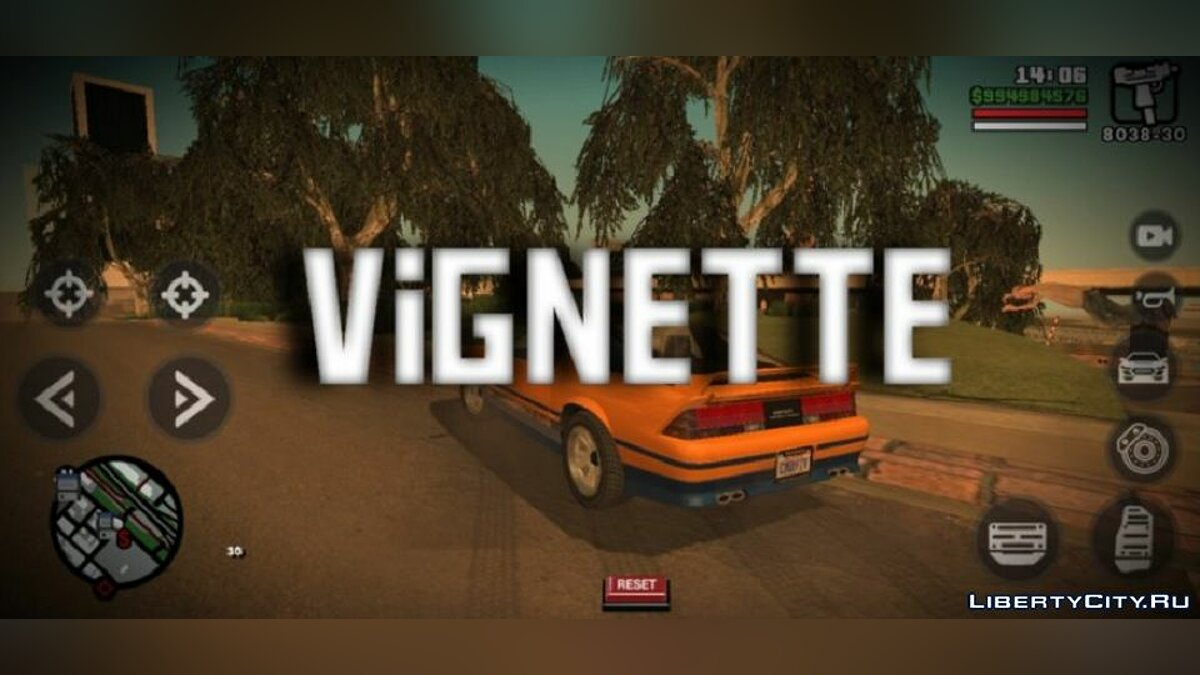 CLEO script Vignette for version V2.00 for GTA San Andreas (iOS, Android)