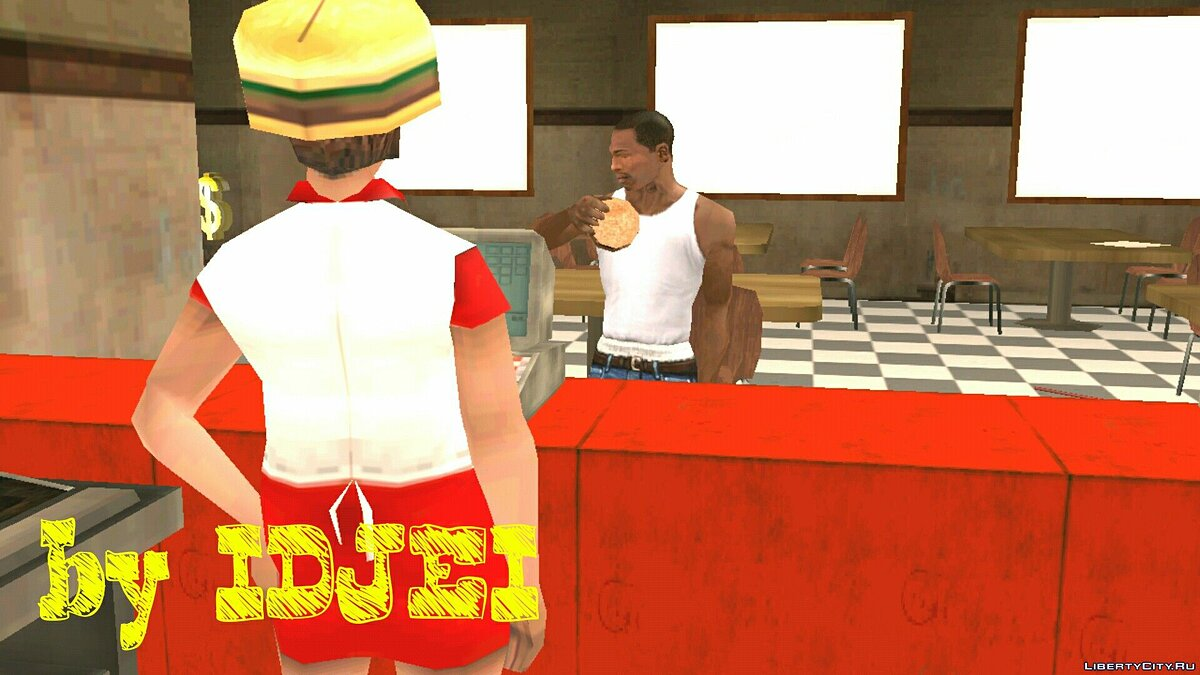 Mafia Diner in LS for GTA San Andreas (iOS, Android) - screenshot #2