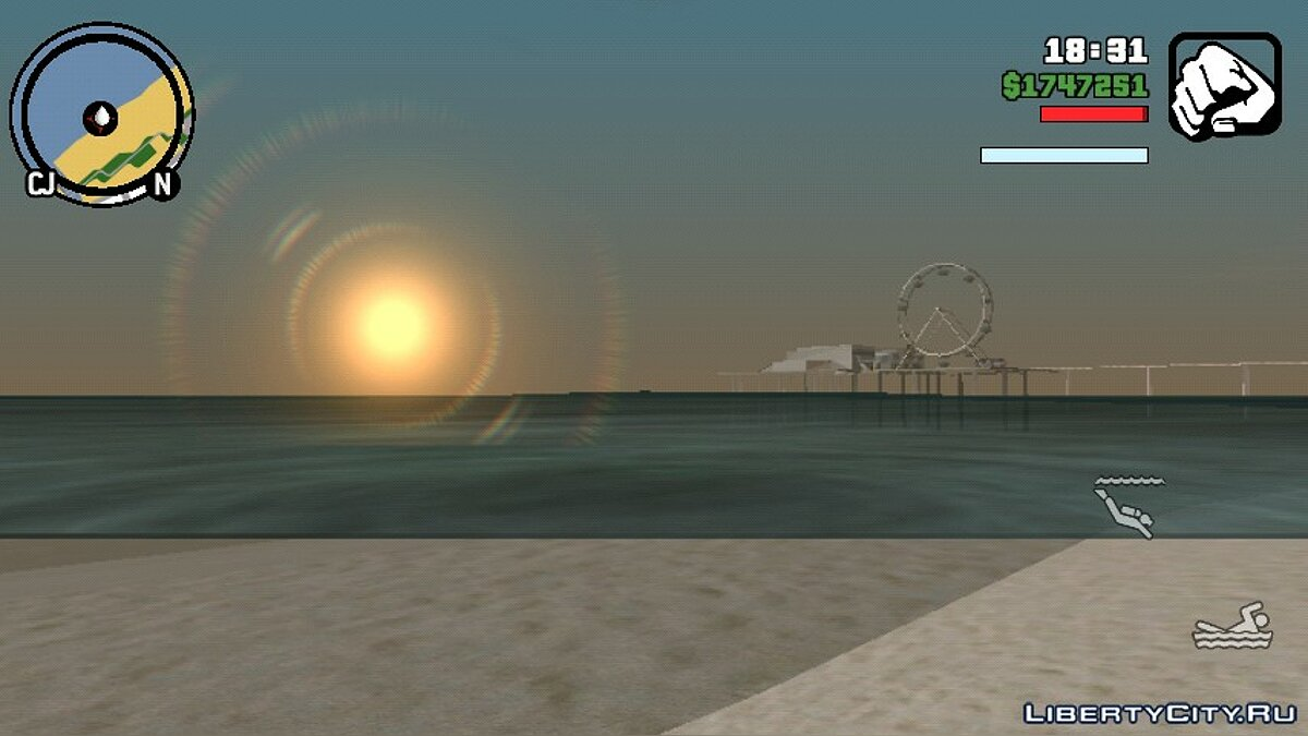 CLEO script Best FPS mod for GTA San Andreas (iOS, Android)