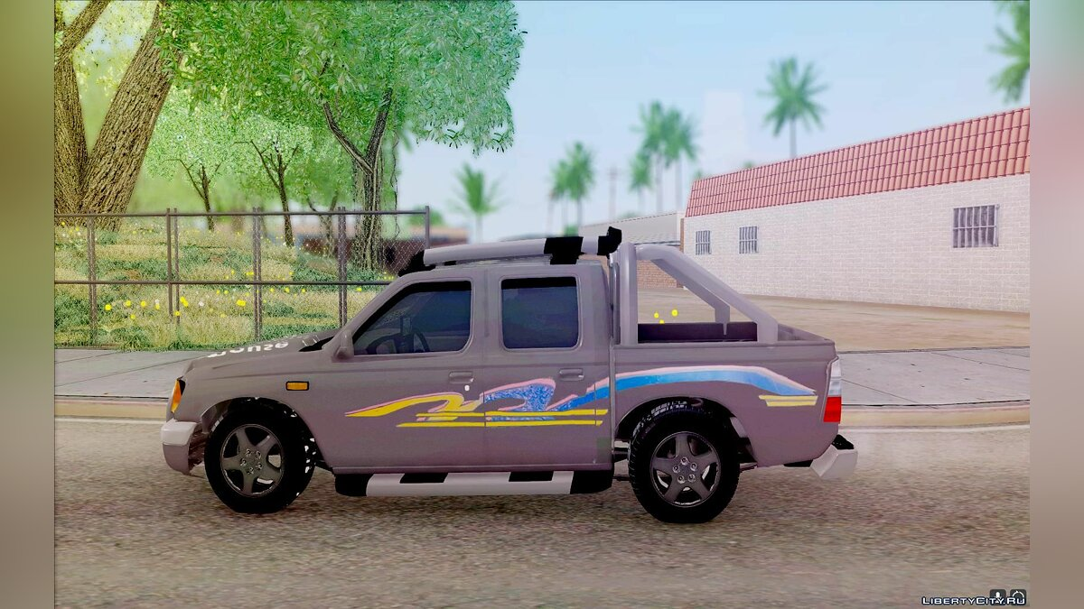 Isuzu car Pickup Isuzu SCR 1998 for GTA San Andreas