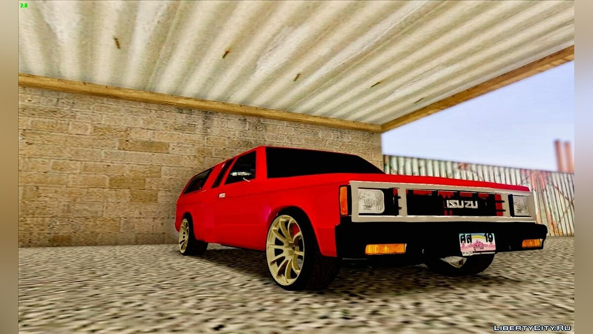 Isuzu car Isuzu KB for GTA San Andreas