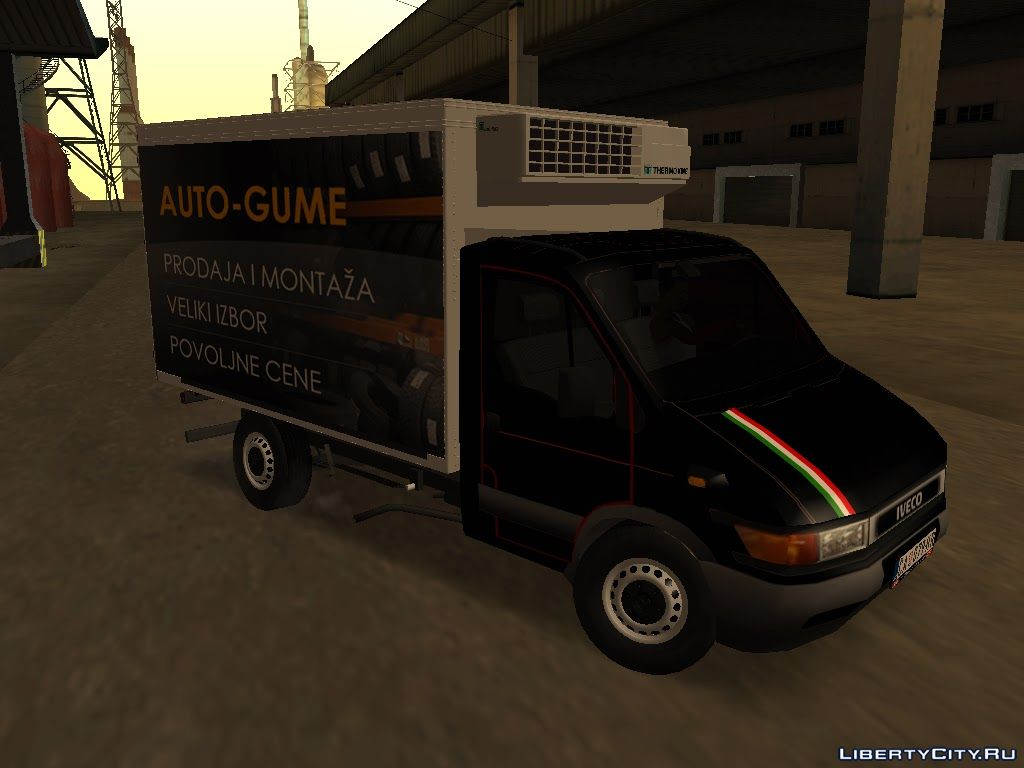 Iveco Daily Mk2 Transporter For Gta San Andreas