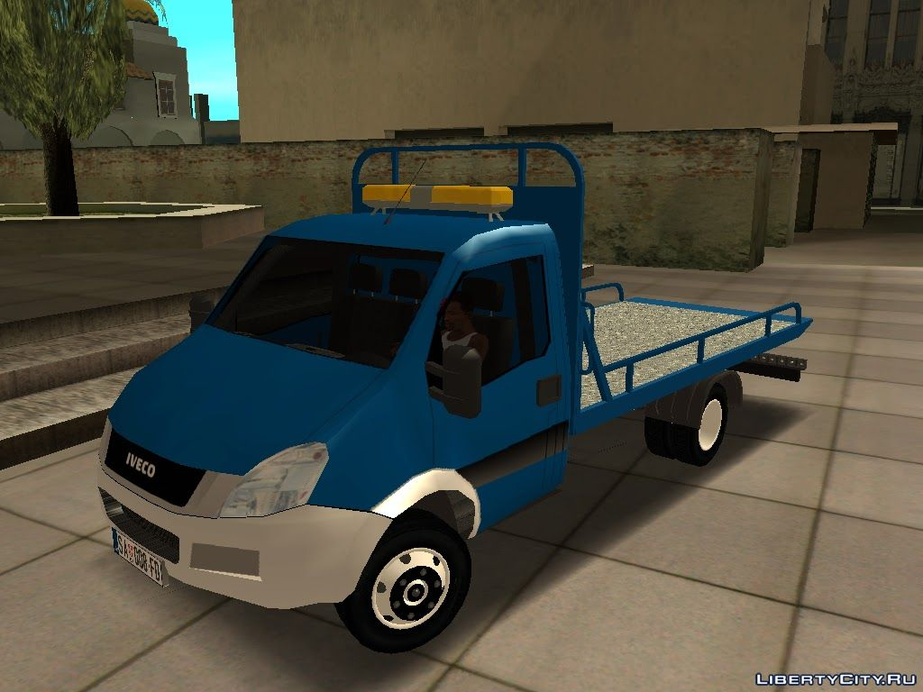 Iveco Daily Mk4 Transporter For Gta San Andreas