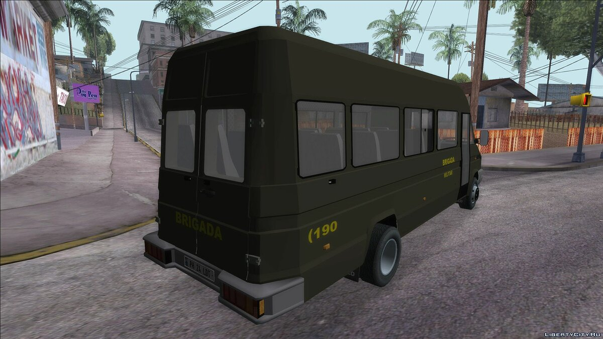 Iveco car Iveco Turbo Daily for GTA San Andreas