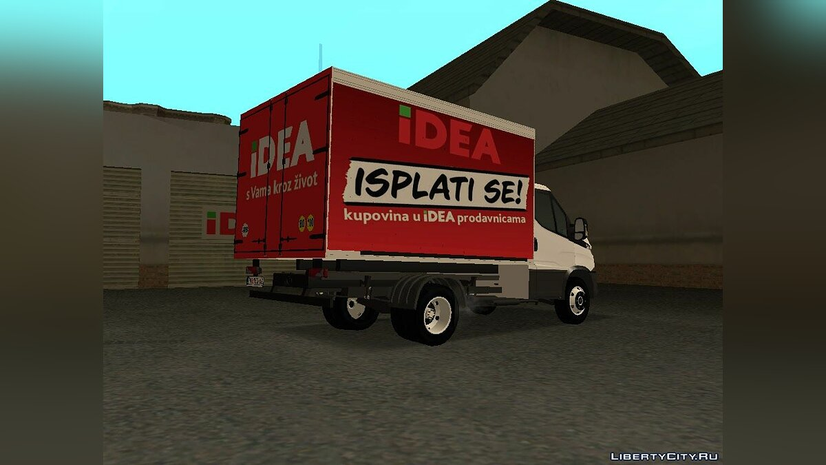 Iveco car 2014 Iveco Daily Transporter for GTA San Andreas