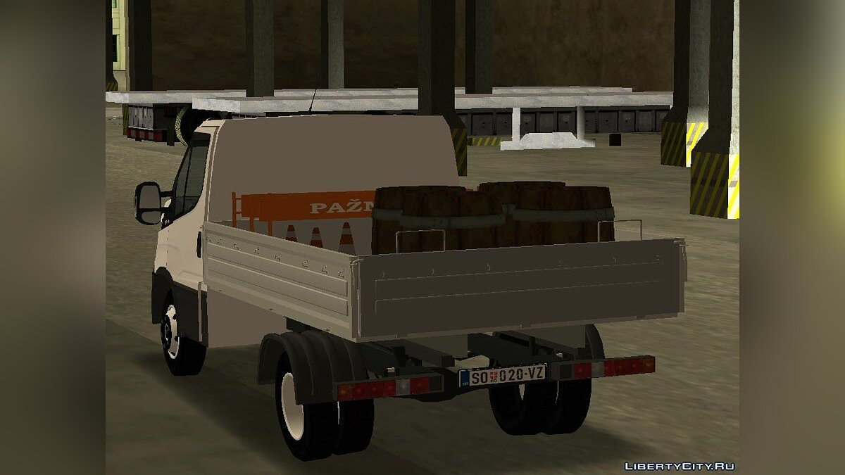 Iveco car Iveco Daily 2014 for GTA San Andreas