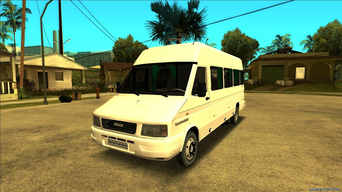Iveco car Iveco Turbo Daily Ejecutiva for GTA San Andreas
