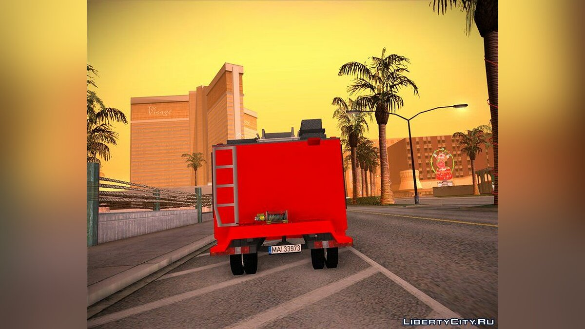 Iveco car 2008 Iveco Daily Mk4 - Autospeciala Pompieri for GTA San Andreas