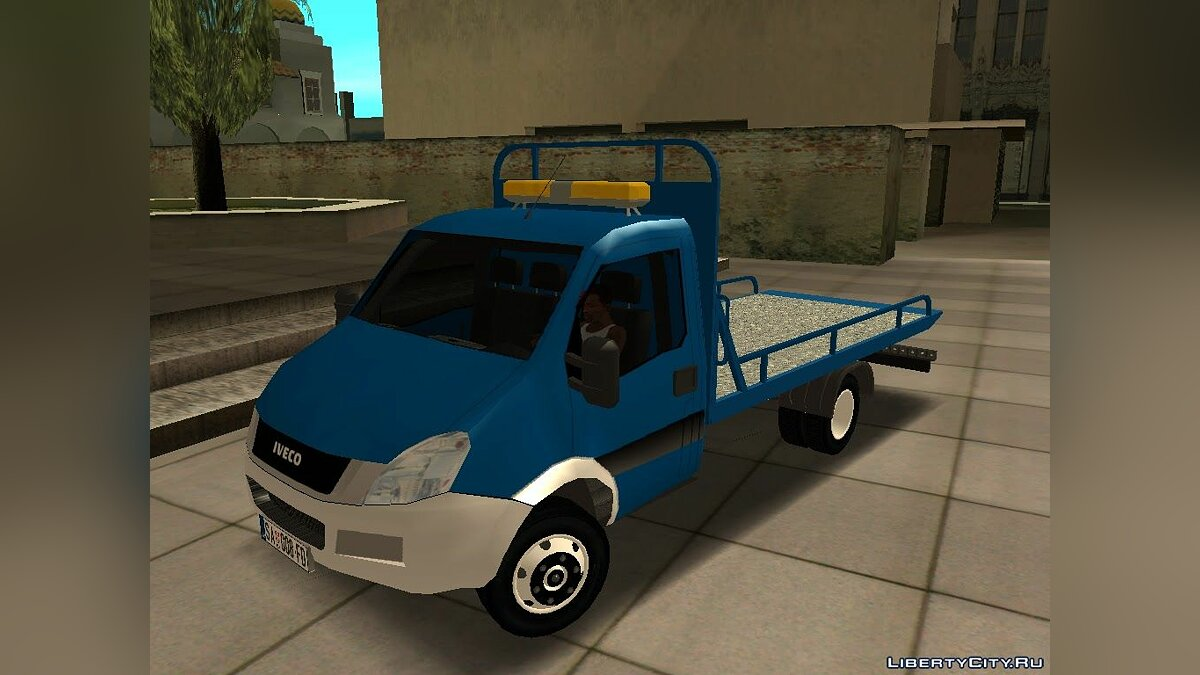 Iveco car Iveco Daily Mk4 Transporter for GTA San Andreas