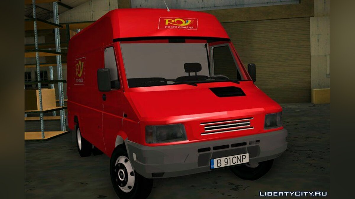 Iveco car 1995 Iveco Daily - Posta Romana for GTA San Andreas