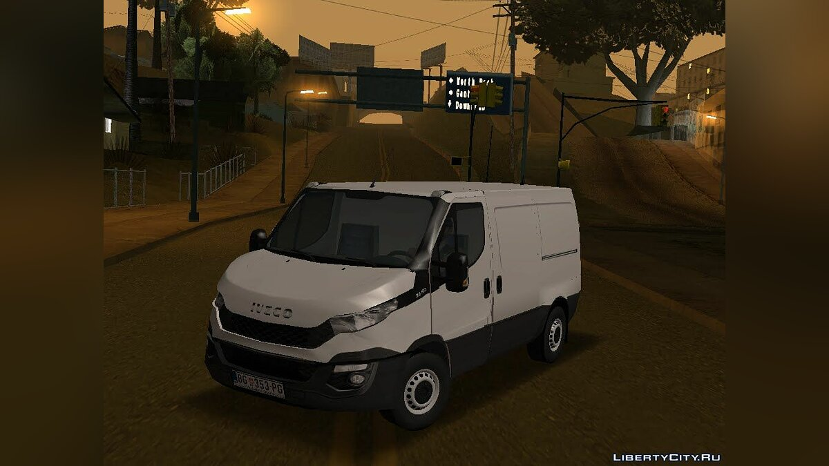 Iveco car Iveco Daily Mk6 Van for GTA San Andreas