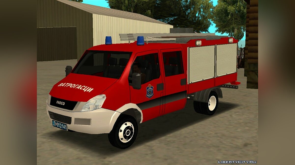Iveco car Iveco Daily Mk4 Vatrogasci for GTA San Andreas
