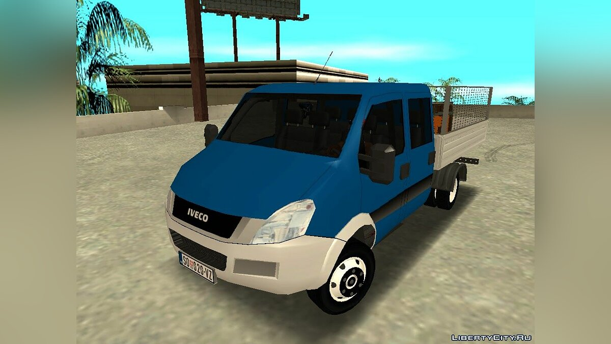 Iveco car Iveco Daily Mk4 for GTA San Andreas