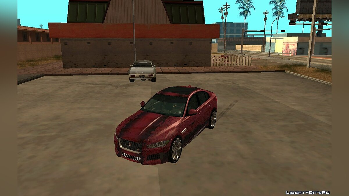 Jaguar car Jaguar XE-S 2015 for GTA San Andreas