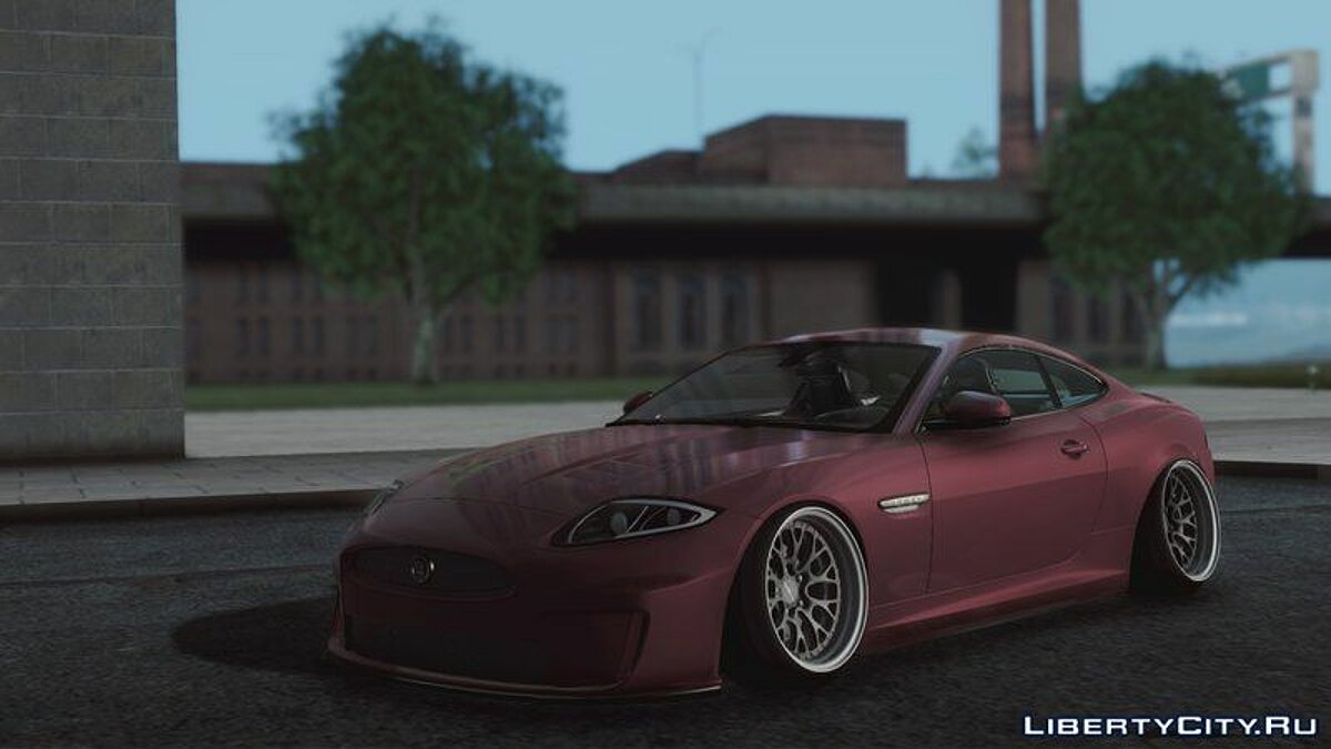 Jaguar car Jaguar XKR-S Stance for GTA San Andreas