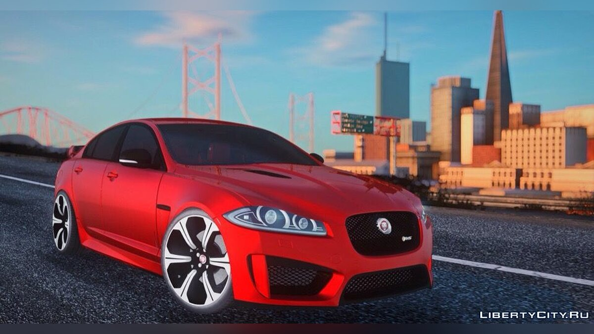 Jaguar car Jaguar 2015 for GTA San Andreas