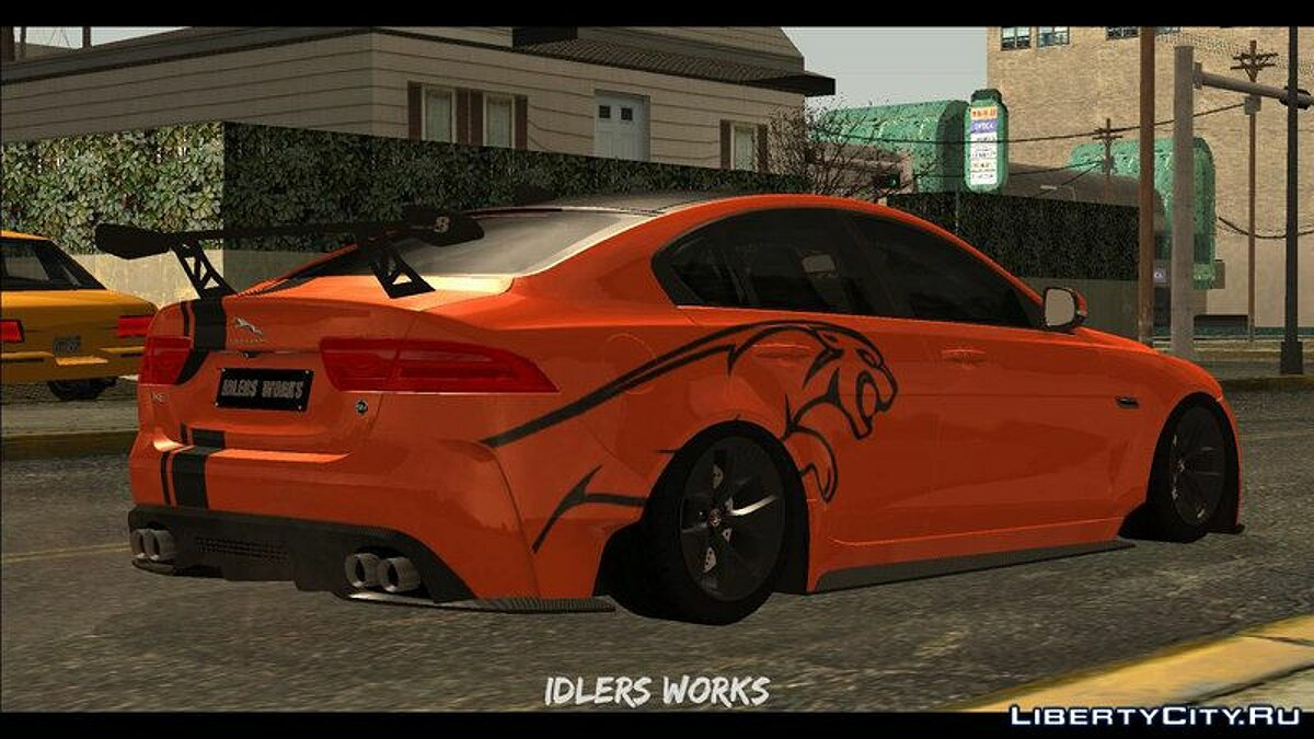 Jaguar car 2017 Jaguar XE SV Project 8 for GTA San Andreas