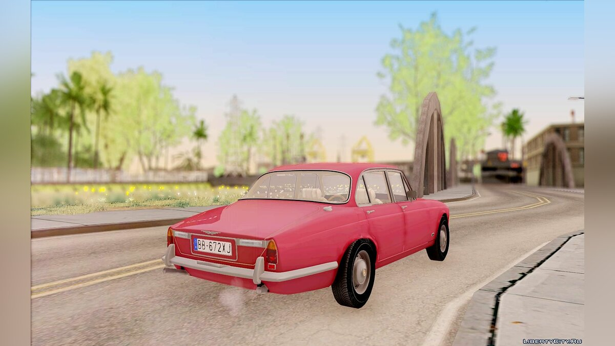 Jaguar car Jaguar XJ6 1972 for GTA San Andreas