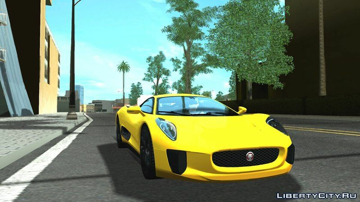 Jaguar car Jaguar C-X75 for GTA San Andreas