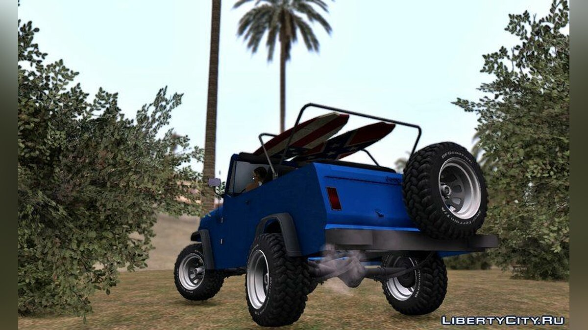 Jeep car Jeep Comando 1969 for GTA San Andreas