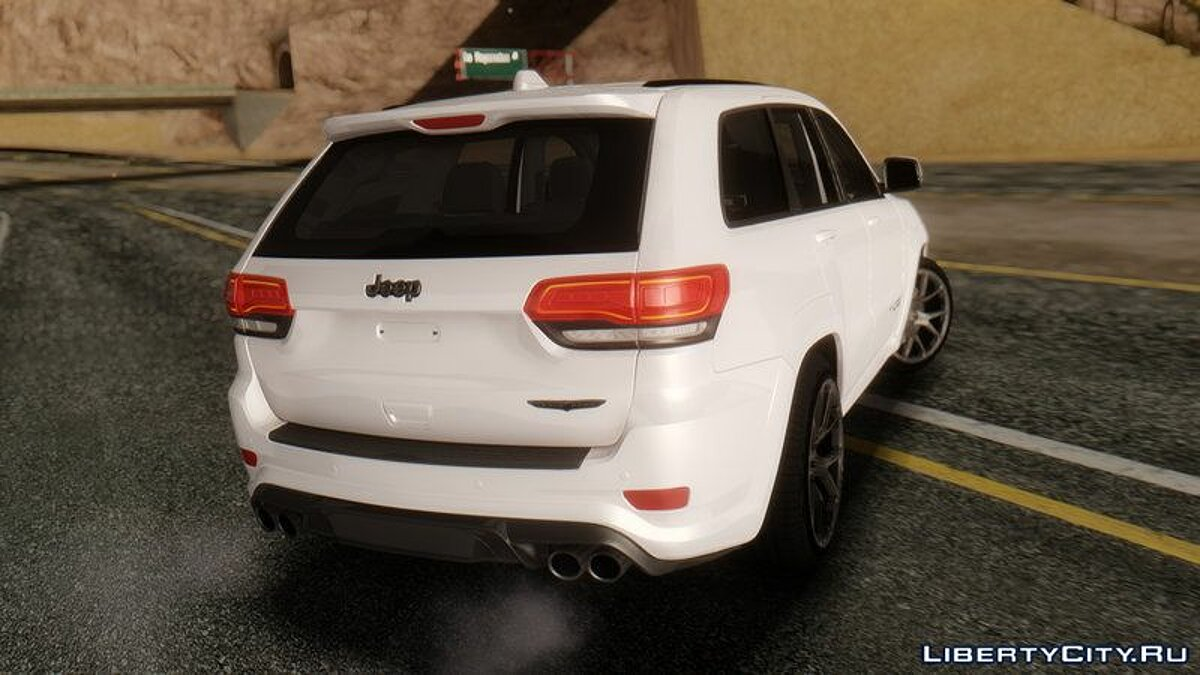 Jeep car Jeep SRT 8 TrackHawk for GTA San Andreas