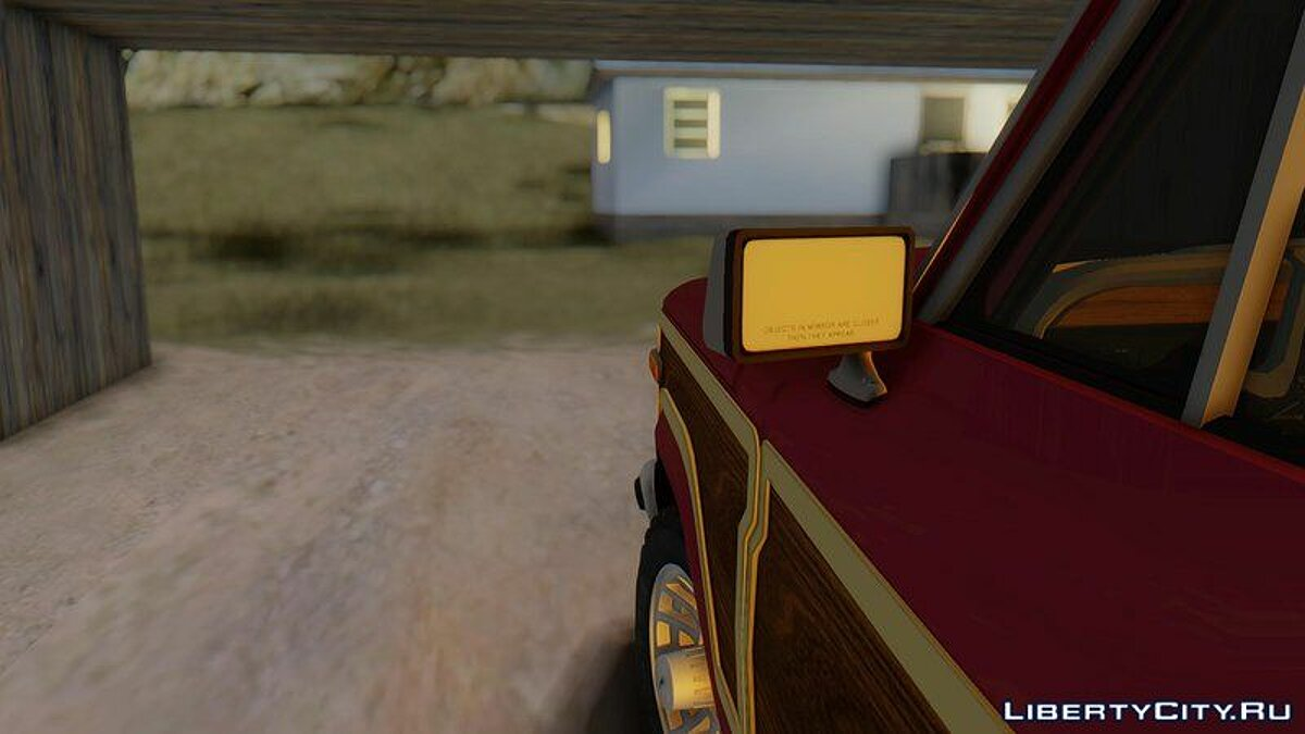 Jeep car Jeep Grand Wagoneer 1991 for GTA San Andreas