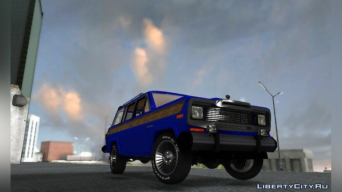 Jeep car Jeep Wagoneer for GTA San Andreas