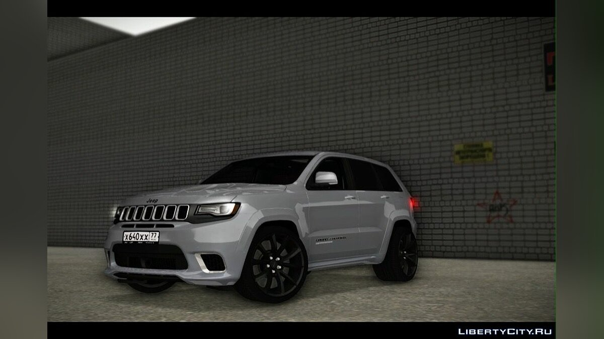 Jeep car Jeep grand cherokee for GTA San Andreas