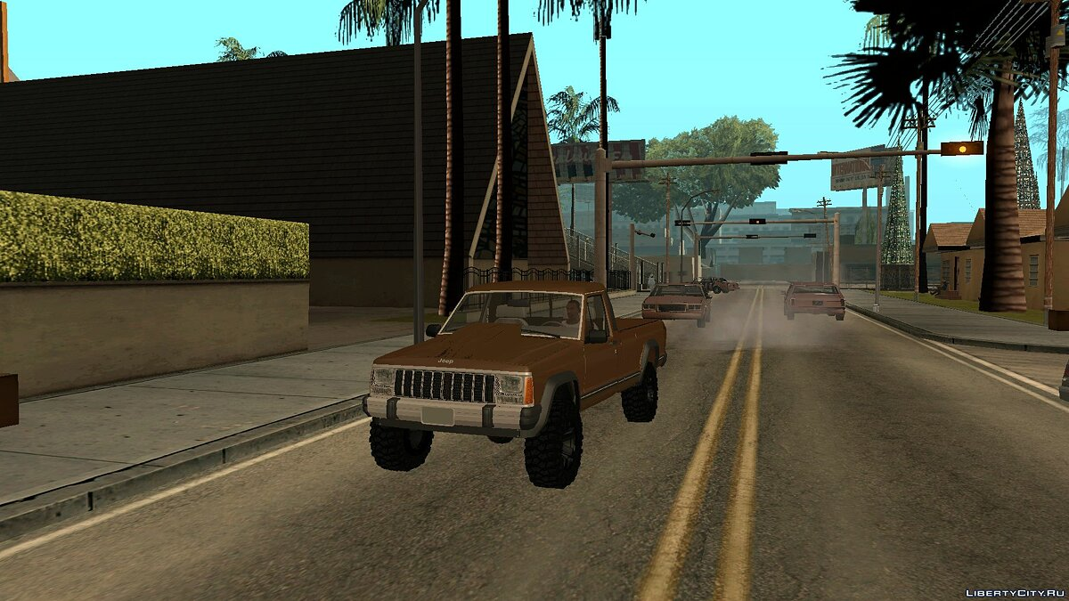 Jeep car Jeep comanche for GTA San Andreas