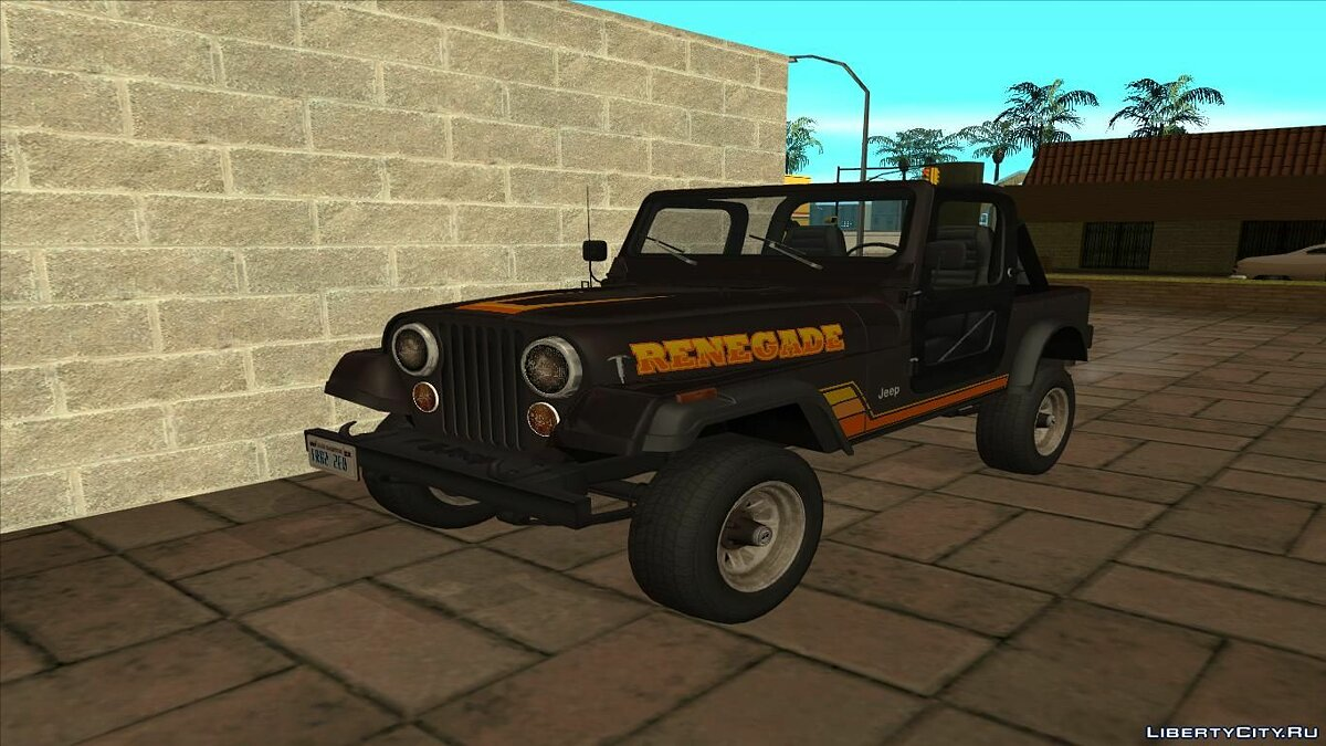 Jeep car 1982 AMC Jeep CJ7 Renegade v1.3 for GTA San Andreas